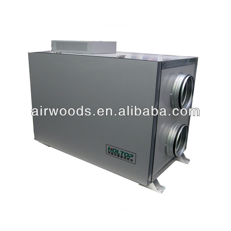 high efficiency EC fan Aluminum exchanger heat recovery ventilator hrv