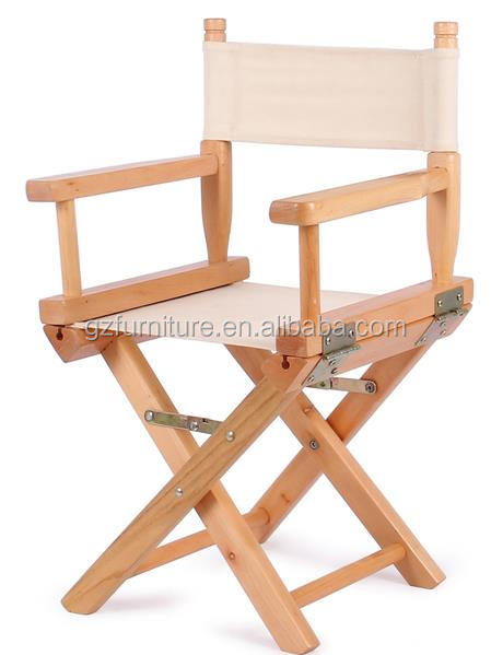 2017 new arrival wooden director chair custom baby director's chair