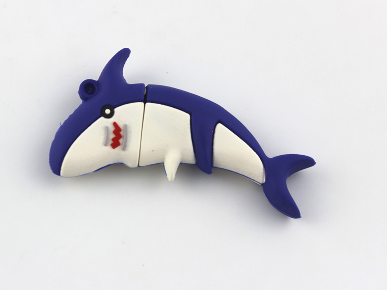 retail plastic usb pen drive , high quality usb memory stick , dolphin shaped usb flash drive