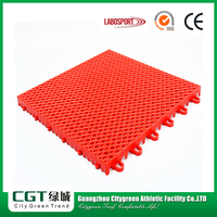 Anti Slip Removable Portable Interlocking Outdoor Futsal Sport Court Rubber Flooring