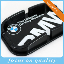 3d customized high quality anti-skid pad in car rubber silicone mobile stand