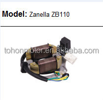MOTORCYCLE MAGNETO STATOR FOR ZANELLA ZB110