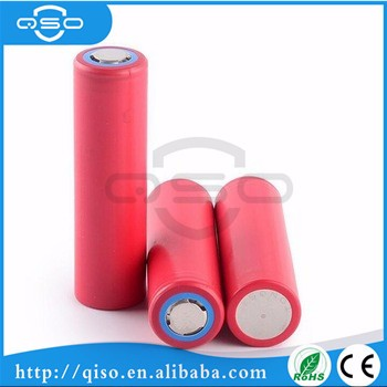 18650GA 3500mAh battery 3.7v flat lithium battery in stock for sanyo battery cell 18650