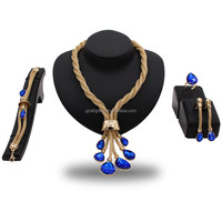 AS101#200 2018 wedding jewelry set high quality factory price alibaba jewelry set for elegant ladies