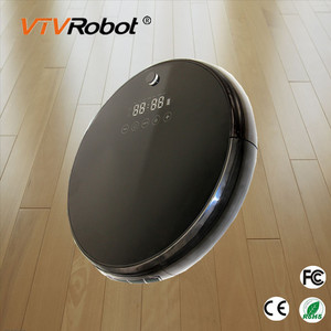 Good Feedback CE Approved low noise electric Self Recharge carpet powerful vacuum cleaner robot