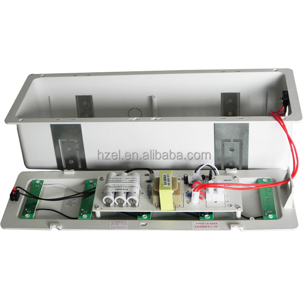 Led Recessed Lighting With Emergency Backup : Battery backup recessed emergency exit light with pcs