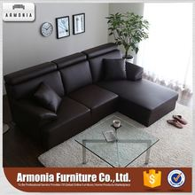 European-style sectional leather trend sofa