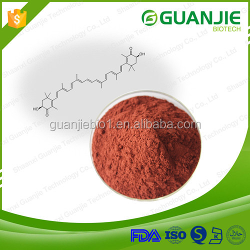 Manufactory supply high quality 100% natural 1% 10% astaxanthin powder