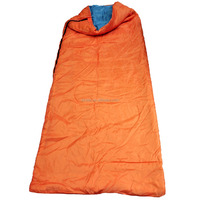 "Outdoor Cool Weather Camping Hiking Sleeping Bag 71""x59"" With Carry Bag"