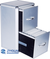Aluminium CD box storage case from yiwu factory