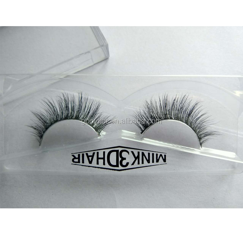 Mink Individal Eyelashes Fashion Women 3D Eye Lashes Extension Professional Beauty Makeup Tool Kit <strong>A02</strong>#