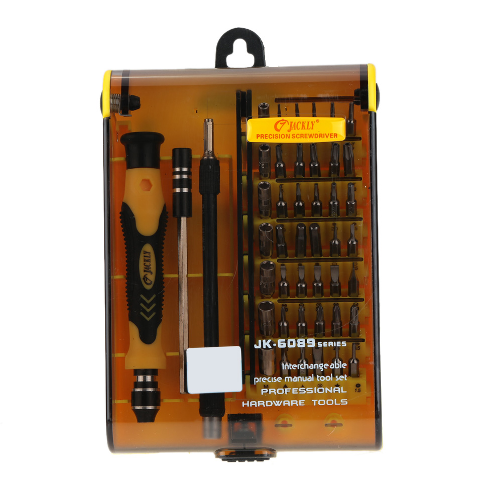 45-in-1 Screwdriver Set Hand multi Tools Kit Hardware Screw Driver Set Interchangeable Manual Tool for Mobile Phone Hard Drive