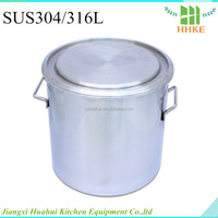 Portable metal oil drums/oil bucket for gasoline stainless steel oil drum