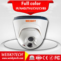 Weisky Economic Best Selling HD AHD 1MP 1.3MP 2MP 20M HD AHD Night Vision IR DOME Camera