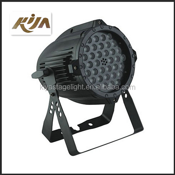 Dmx 512 stage lighting wash 36 3w rgbw ip65 waterproof 36x3w led par