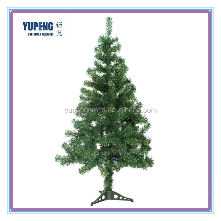 High Quality 90-120cm Bendable Plastic Stand Christmas Tree