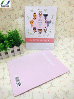 No Harm Anime Paper Notebook with Soft Cover for School