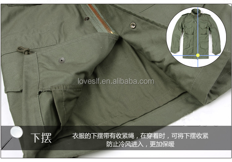 Army Tactical waterproof jackets Uniforms Dust Coat thick warm wind jacket coats Military jacket