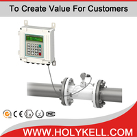 Holykell UF2000-SW ultrasonic flow meter for water