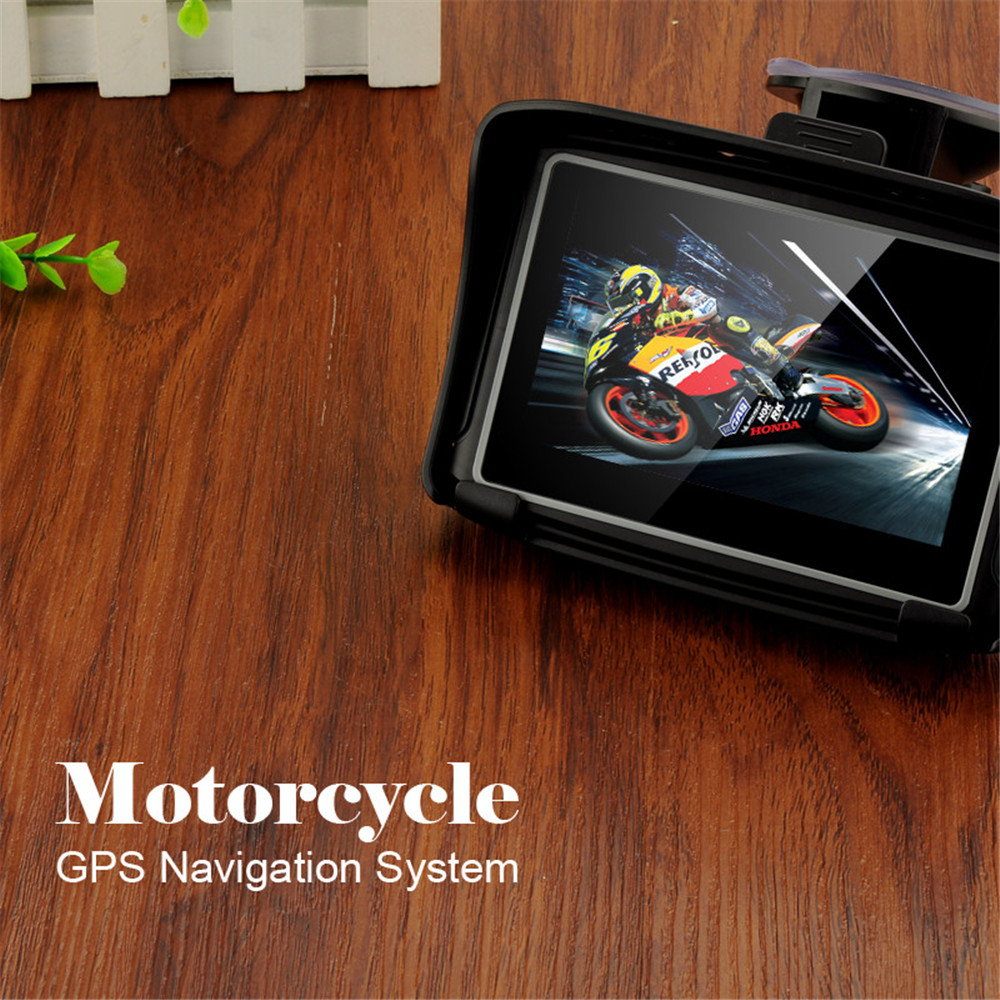 gps motorcycle waterproof car gps navigator MT-4302 Prolech BT FM for car and motorcycle