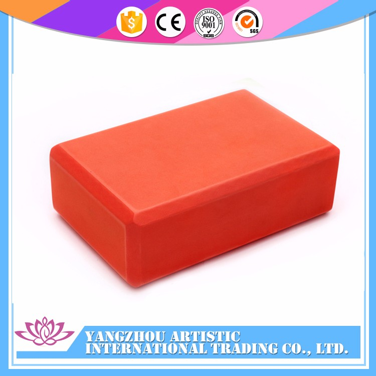 Gym Equipment eco-friendly Eva foam yoga block wholesale yoga blocks Custom your logo