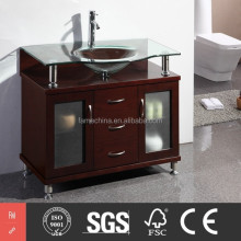Home Top New Modern Oak Wood Bathroom Furniture