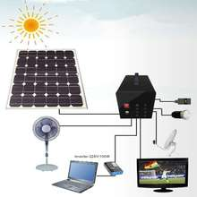 Shenzhen mindtech portable solar power system make your life sunshine 60W for small home