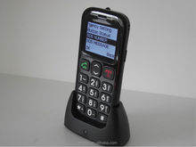 large button elder mobile phone for seniors with Dual SIM Card