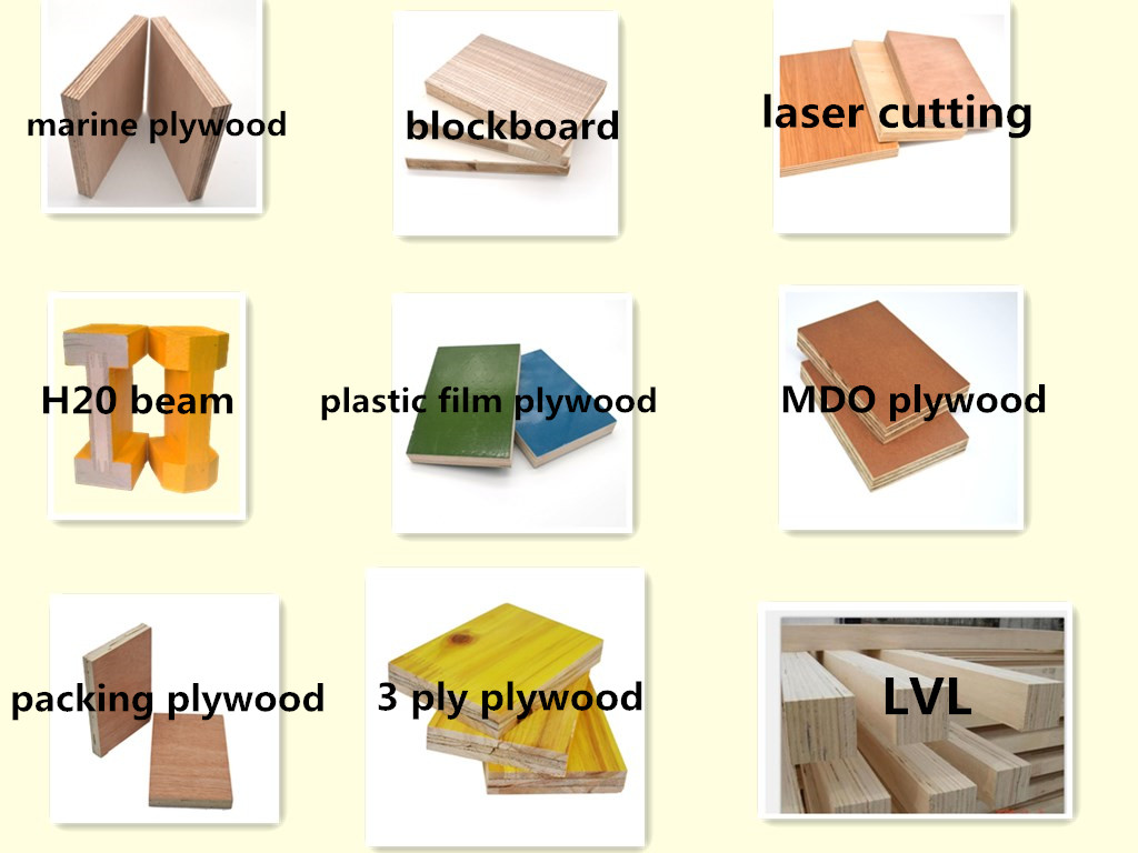 3mm white melamine plywood pine laminate plywood
