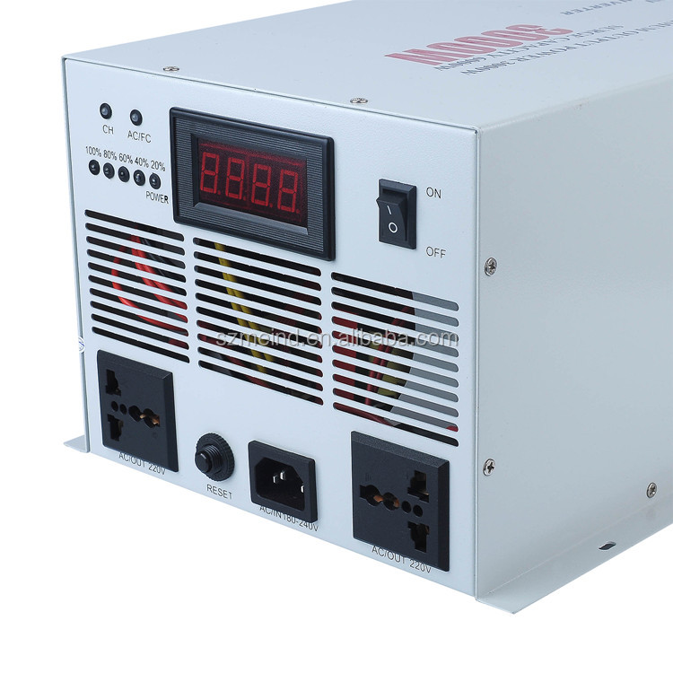 pure sine wave solar power inverter, dc to ac 3KW with lcd display