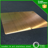 china hairline stainless steel sheet factory for metal building materials