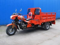 Chinese gasoline 175cc 200cc air or water cooling three wheel cargo tricycle