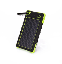 2016 8000mah Portable universal solar charger, solar power bank