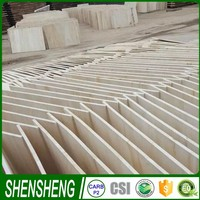 Good quality paulownia finger jointed block board