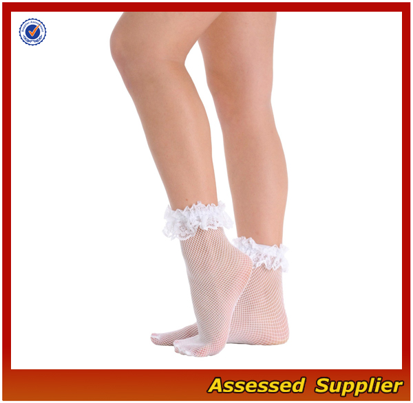 Beautiful Women Lace Ankle Socks Make Your Leg Look More Sexy And Slender