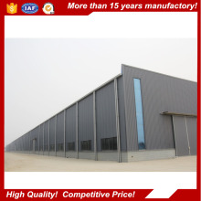Corrugated steel shed / industrial metal sheds