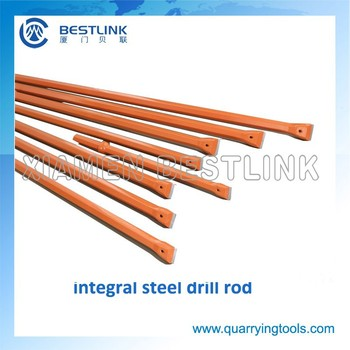 Coal Minies and Quarries Blast Hole Integral Steel Rod