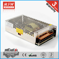 S-200-5 single output ac dc 200w smps 5v 40a power supply for led display