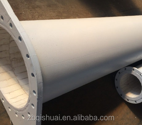 alumina oxide ceramic wear-resistance lined pipe