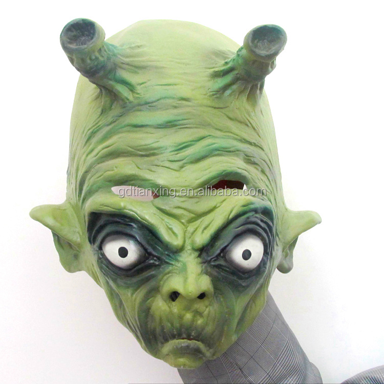 The Alien Adult Party Funny Face Natural Latex Masks