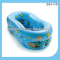pvc inflatable bule swimming baby pool