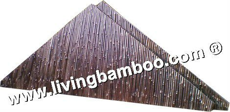 SIDE WALL PANEL ROOF BY ROUND BAMBOO BAMBOO MATERIAL