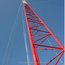 Self-supporting Angular Telecommunication Steel tube Tower 3-legs