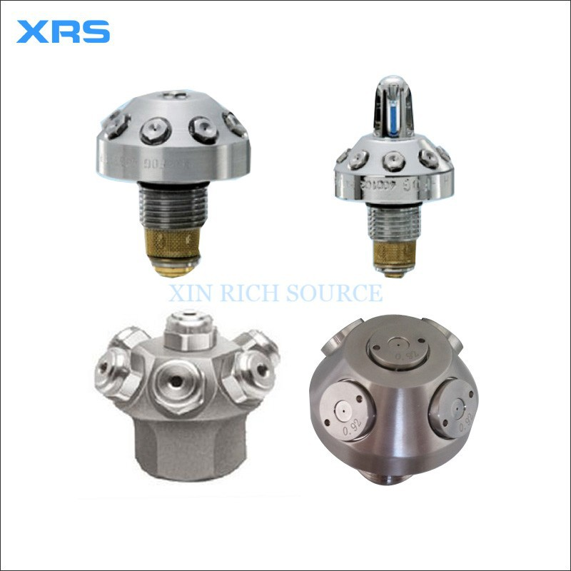 Stainless steel high pressure water mist fire spray nozzle