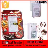 H0133 220V Ultrasonic Electronic Reject Insect Indoor Pest Bug Control Repeller