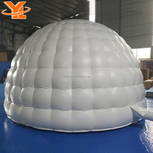 White outdoor inflatable wedding dome tent for sale