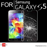 For Samsung Galaxy S5 Ultra Thin Clear Premium Tempered Glass Screen Protector
