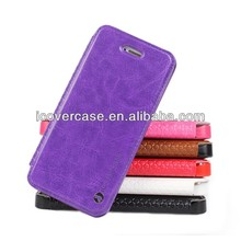 Ultra - Thin shell! iCoverCase Smart wallet case,the best quality leather case for iPhone 5 5s