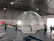 2015 camping tent inflatable, Inflatable Clear Tent for Camping, transparent inflatable bubble tent for camping