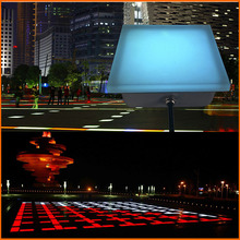 colorful led brick lights for square